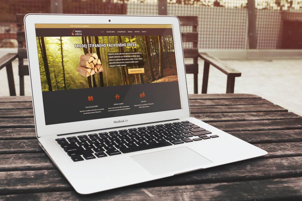 Prodej dřeva díky Landing Page a správně nastavené PPC kampani