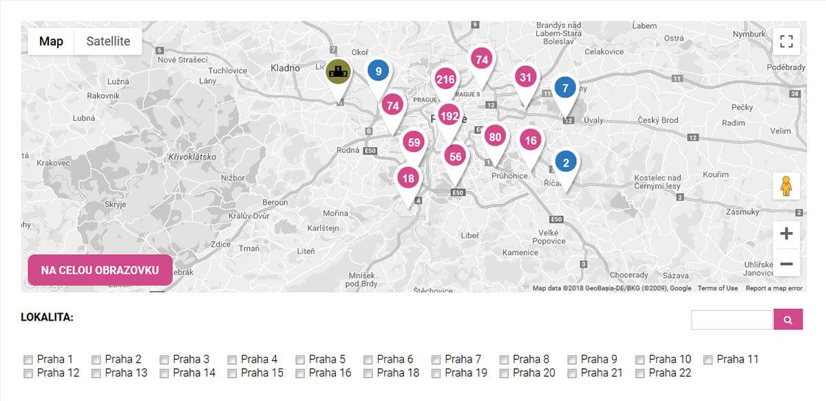Detail webu Praha sportovni