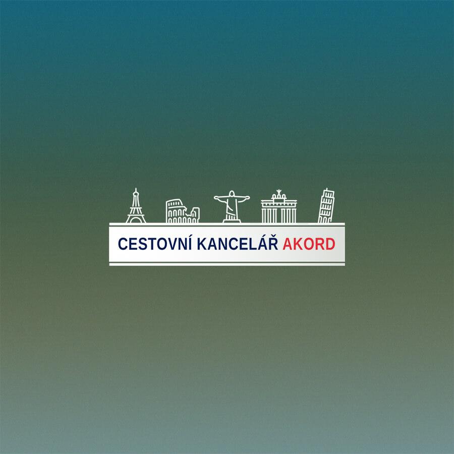 Logo cestovní kancelář Akord