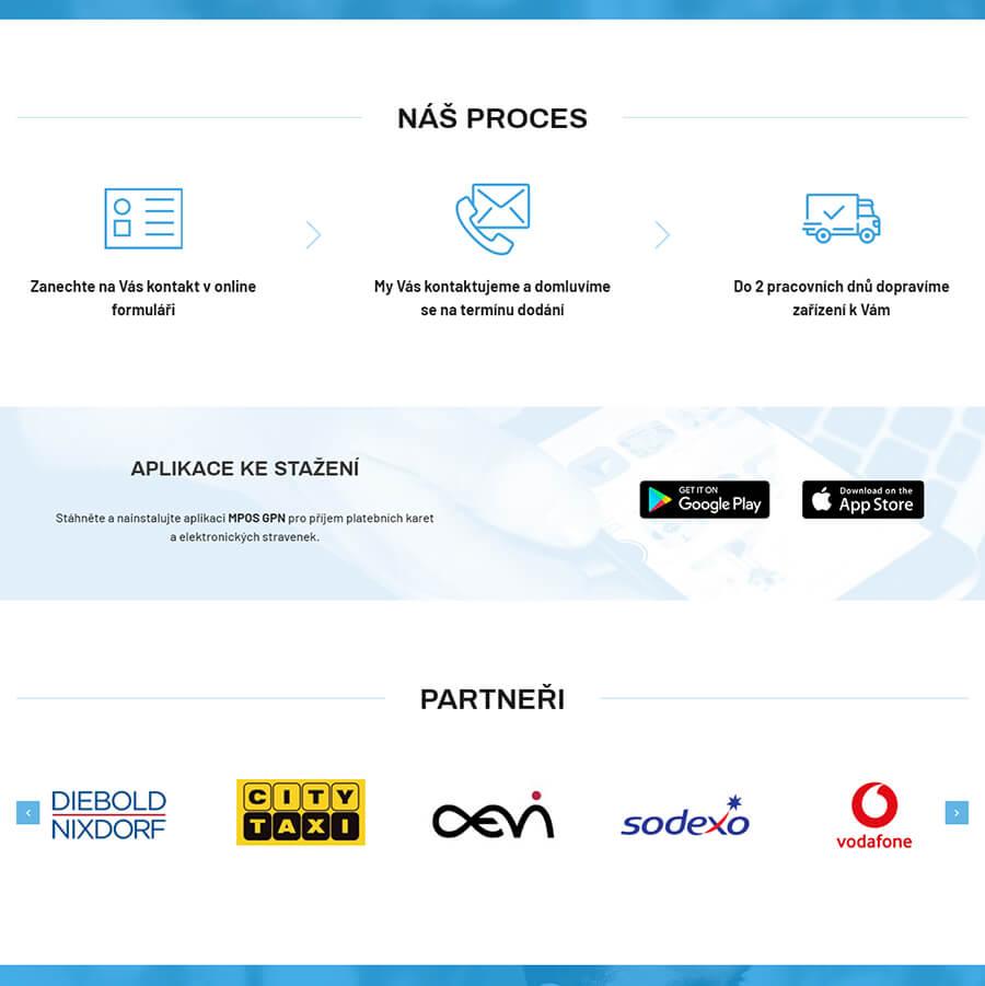 Mobilní terminál sdílení aplikací