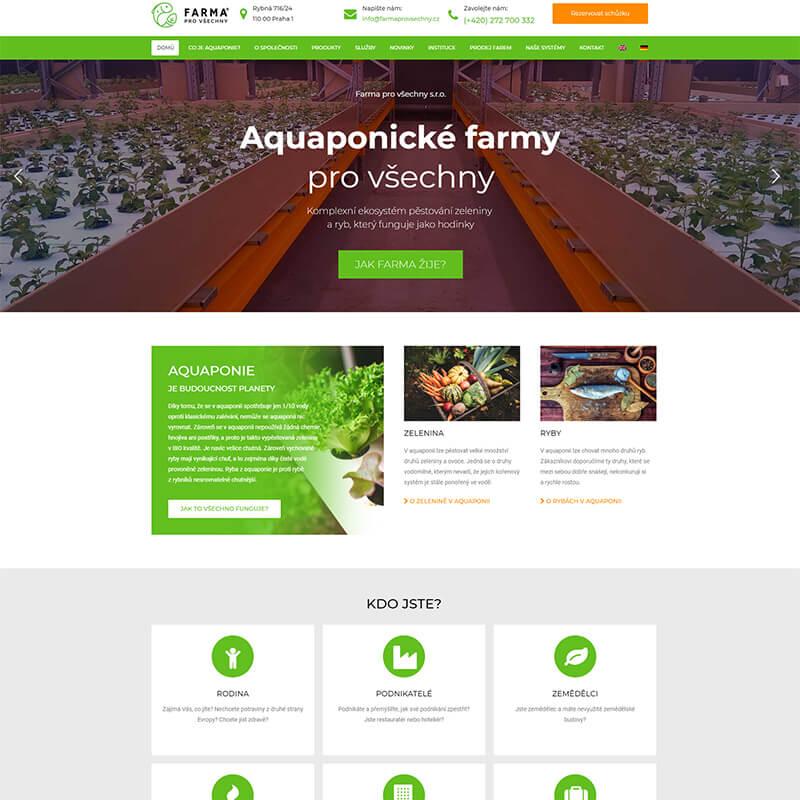 Nehladový obrázek webu Farma pro všechny
