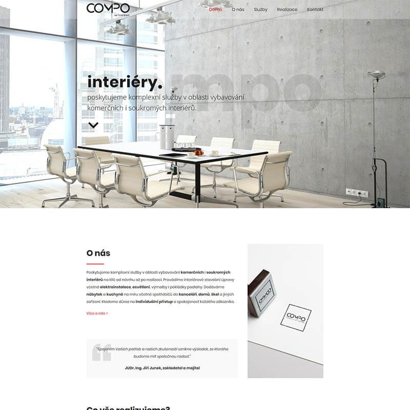 Náhledový obrázek na web Compo Interiéry
