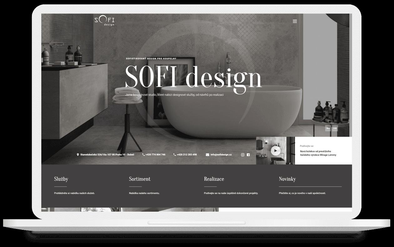 Koupelnové studio SOFI design